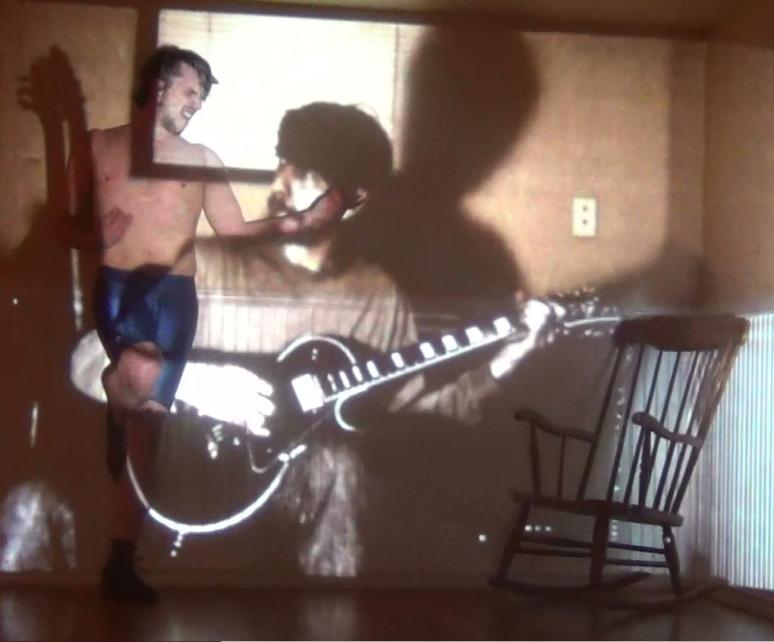 Rango as Angus Young, with Matthew Meadows