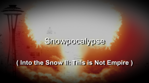 title screen from Into the Snow II