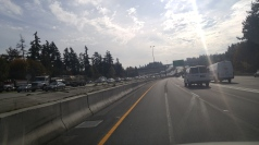 toll failure in the opposing lane.